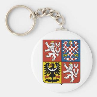 czech emblem keychains