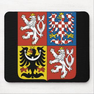 czech emblem mouse pad