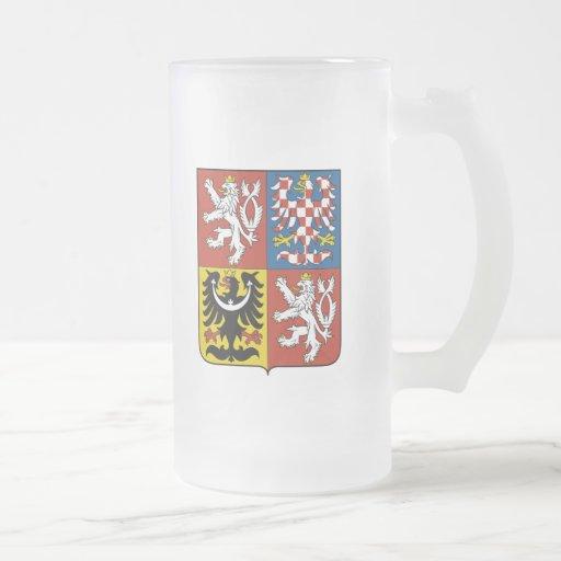 czech emblem mugs