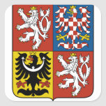 czech emblem sticker