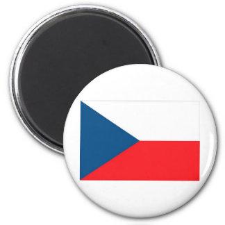 CZECH FLAG 2 INCH ROUND MAGNET