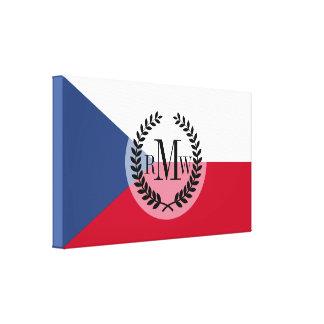 Czech Flag Canvas Print
