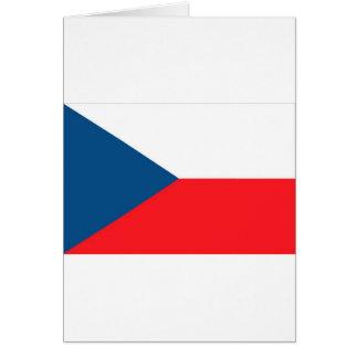 CZECH FLAG CARD
