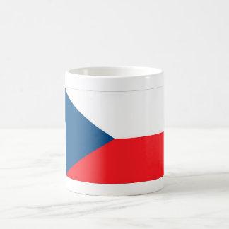 CZECH FLAG CLASSIC WHITE COFFEE MUG