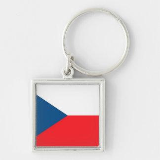 CZECH FLAG KEYCHAIN