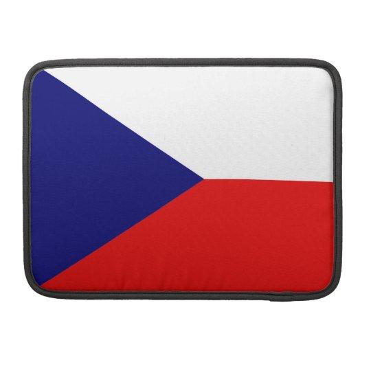 Czech Flag Macbook Pro Flap Sleeve