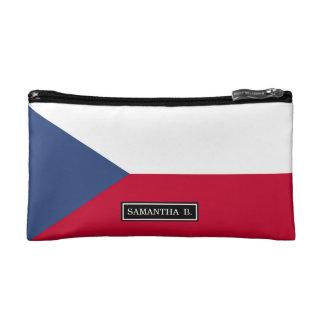 Czech Flag Makeup Bag