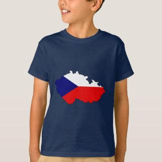 Czech flag map T-Shirt