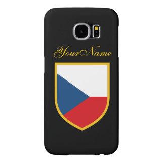 Czech Flag Samsung Galaxy S6 Case