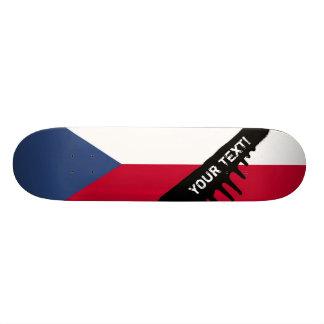 Czech Flag Skateboard Deck