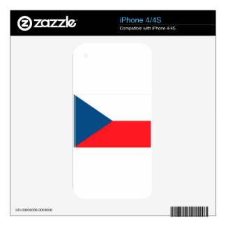 CZECH FLAG SKINS FOR iPhone 4S