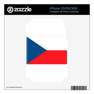 CZECH FLAG iPhone 2G SKINS