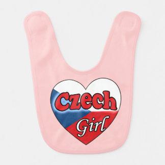 Czech Girl Bib