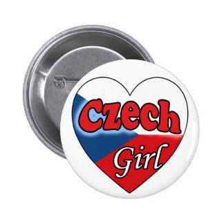 Czech Girl Pin