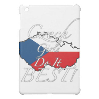 Czech Girls Do It Best! iPad Mini Cover