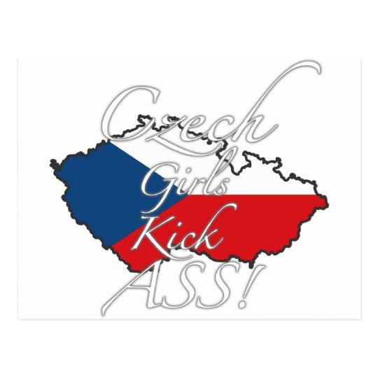 Czech Girls Kick Ass! Postcard
