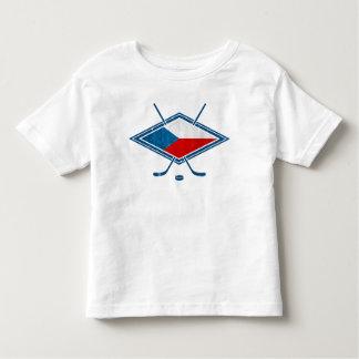 Czech Hockey Flag Logo český Toddler T-shirt