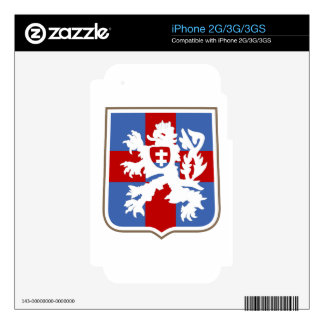 Czech Independent Armoured Brigade Group iPhone 3 Decal