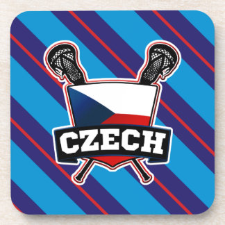 Czech Lacrosse český lakros Coasters