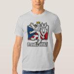 Czech Lion Coat of Arms Flag Tee Shirt