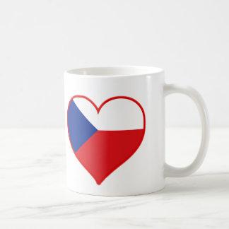 Czech Love Classic White Coffee Mug