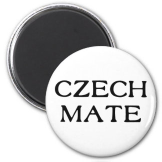 Czech Mate 2 Inch Round Magnet