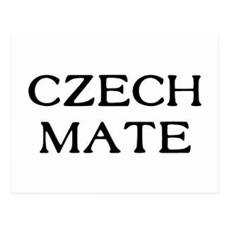 Czech Mate Postcard