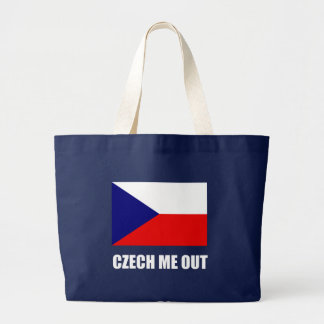 Czech Me Out Large Tote Bag