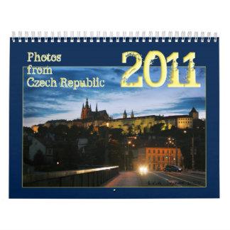 Czech Republic  2011 Calendar