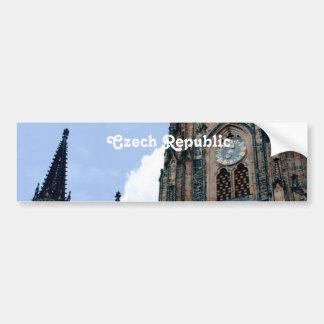 Czech Republic Architecture Bumper Sticker