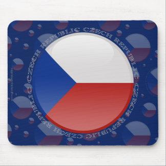 Czech Republic Bubble Flag Mouse Pad