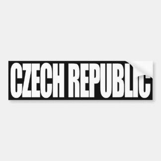 Czech Republic Bumper Sticker