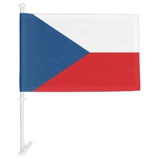 Czech Republic Car Flag