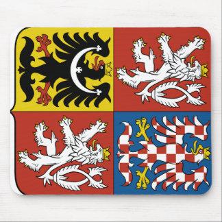 Czech Republic Coat of arms CZ Mouse Pad