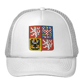 Czech Republic Coat of arms CZ Trucker Hat