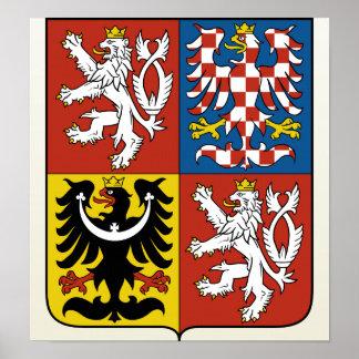 Czech Republic Coat of Arms detail Poster