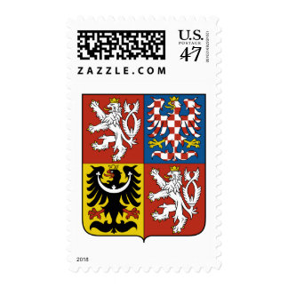 Czech Republic coat of arms Postage