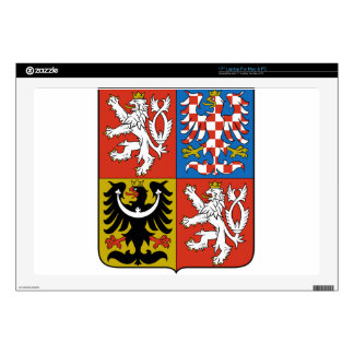 Czech Republic Coat of Arms Skin For Laptop