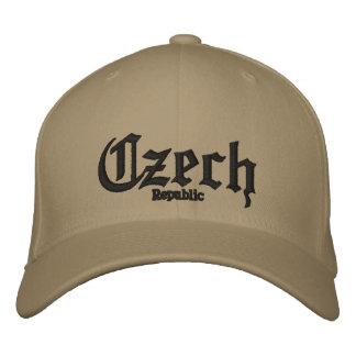 Czech, Republic Custom Hat Embroidered Hats