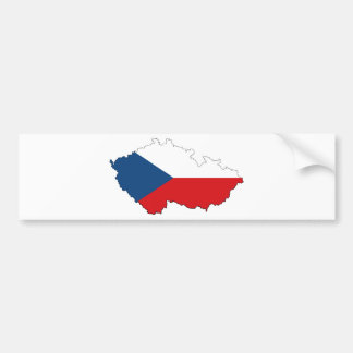 Czech Republic CZ Bumper Sticker
