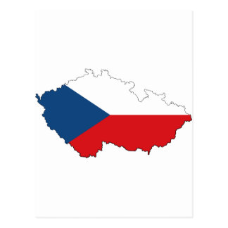 Czech Republic CZ Postcard