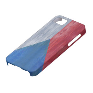 Czech Republic distressed flag iPhone SE/5/5s Case