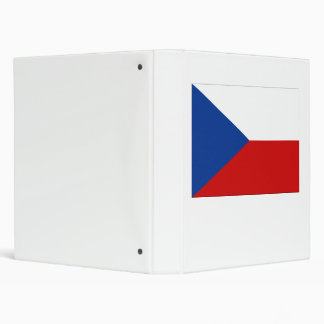 Czech Republic Flag Binder