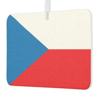 Czech Republic Flag Car Air Freshener