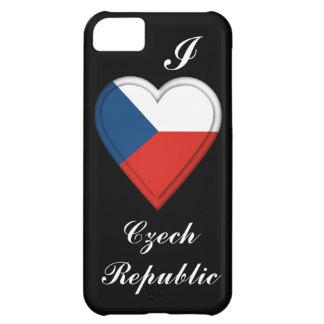 Czech Republic Flag Case For iPhone 5C