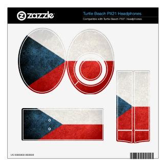 Czech Republic Flag; český Turtle Beach Px21 Skin