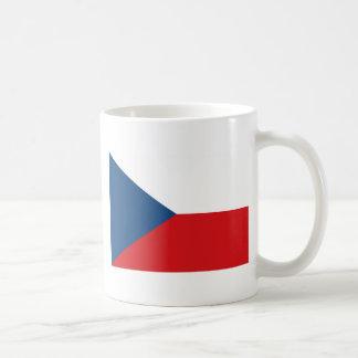 Czech Republic Flag CZ Coffee Mug