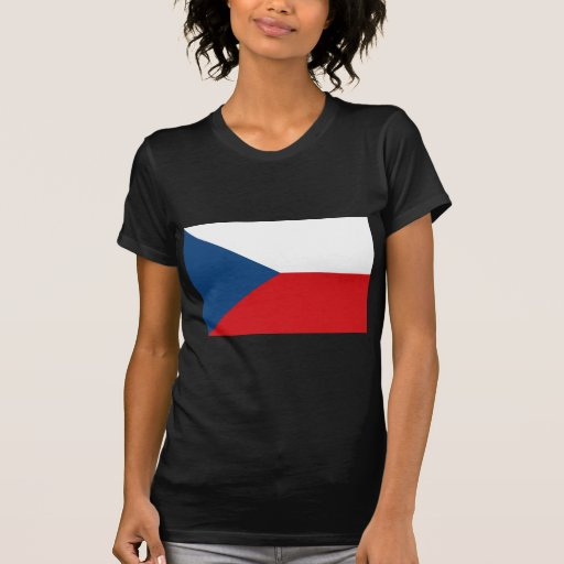 Czech Republic Flag CZ T Shirt