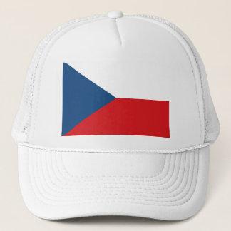 Czech Republic Flag CZ Trucker Hat