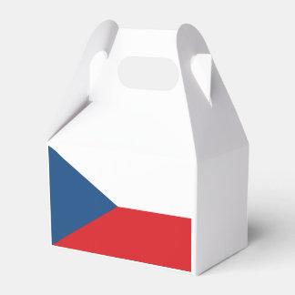 Czech Republic Flag Favor Box
